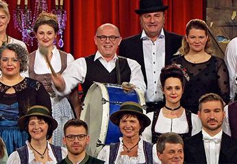 Bernd Händel als Herbert Hisl in den Brettl-Spitzen XI.